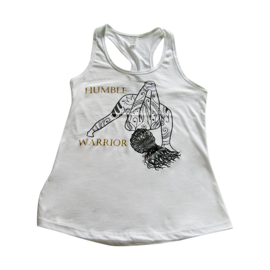 Humble Warrior Racerback Tank Top
