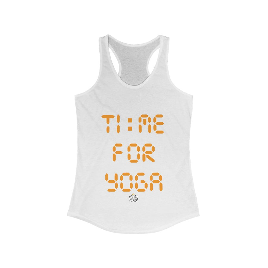 Time for Yoga Racerback Tank