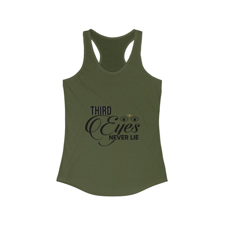 Third Eyes Racerback Tank