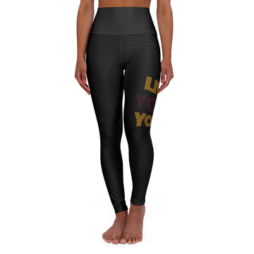 Live Your Yoga High-Waisted Yoga Leggings