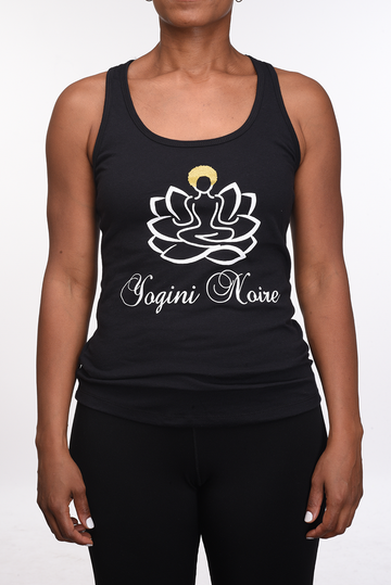 Logo Style Racer-Back Tank Top