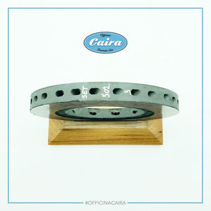 Formula One Carbon Brake Disc With a Wooden Support (Teak). Nr.6 .Years 2000-2005