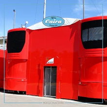 Load image into Gallery viewer, Original Gantry Motorhome Scuderia Ferrari - 2003/2010 - Formula One - F1