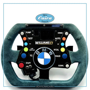 Williams FW23 - 2001 - Original Steering Wheel -Juan-Pablo Montoya - Ralf Schumacher