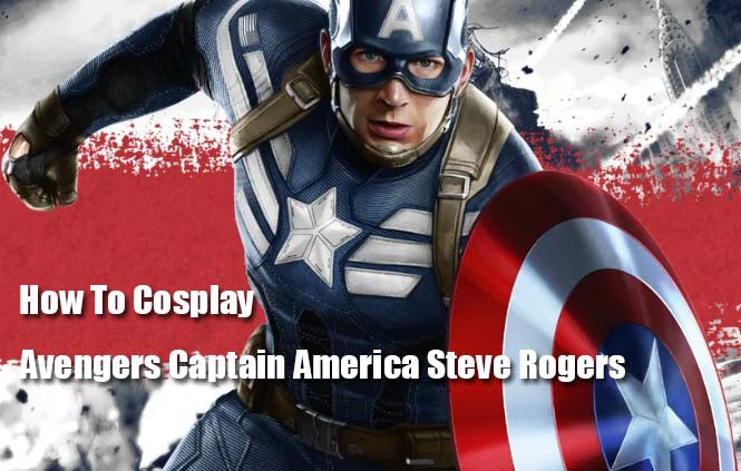 How To Cosplay Avengers Captain America Steve Rogers--XXcosplay
