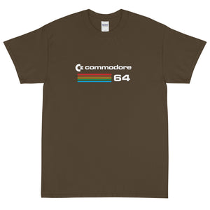 brown commodore 64 classic t-shirt