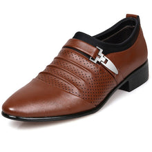 Load image into Gallery viewer, Business Formal Slip On Oxford Leather Shoes