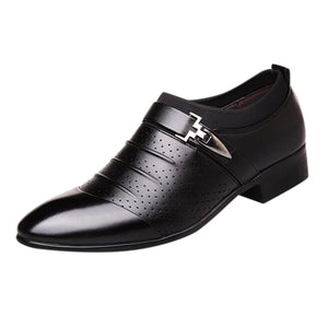 black dress shoes for big and tall men