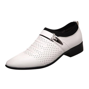 white dress shoes for big and tall men