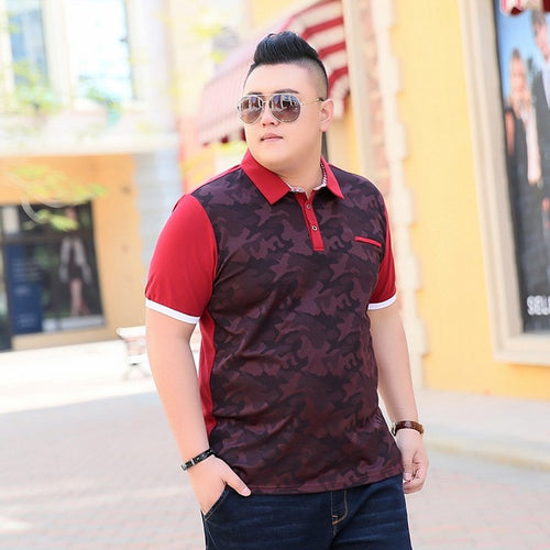 Stylish Short Sleeve Polo Shirt