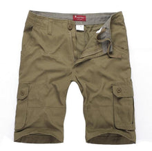 Load image into Gallery viewer, big and tall olive green cargo pants shorts