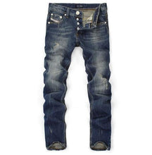 Load image into Gallery viewer, Denim Blue Captain Jeans