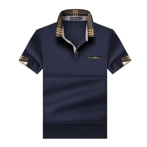 big and tall blue polo shirt