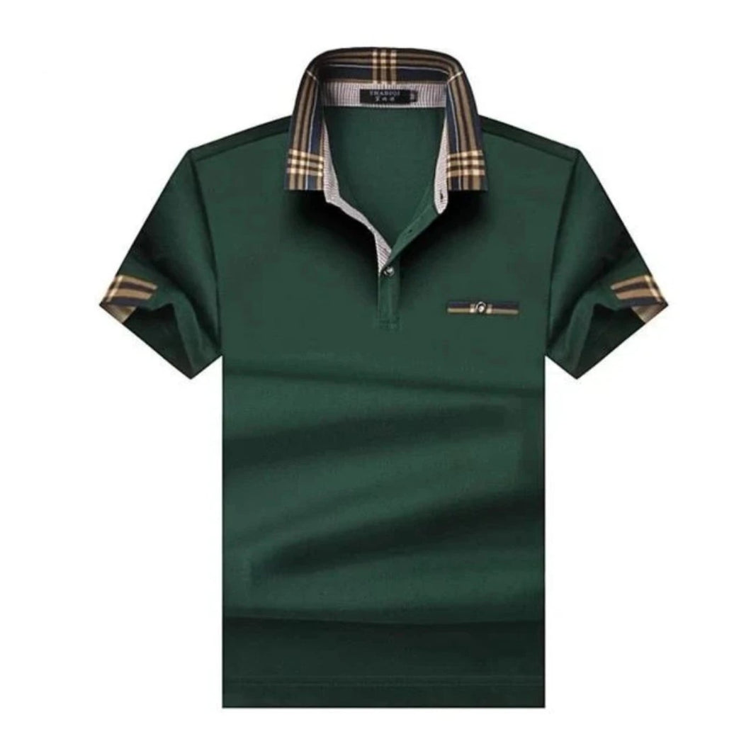 big and tall green designer polo shirts