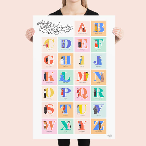 Alphabet of Extraordinary Women