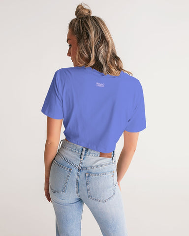 Kamala Women's Twist-Front Cropped Tee