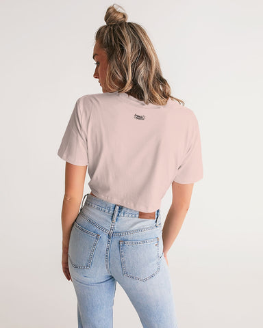 Dolly Parton Women's Twist-Front Cropped Tee