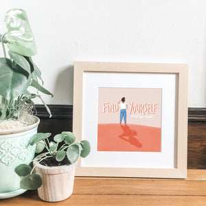 Find Yourself Framed Print Framed Print Gooten