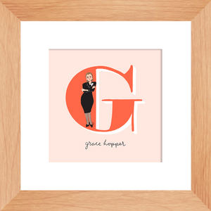 Grace Hopper Framed Print