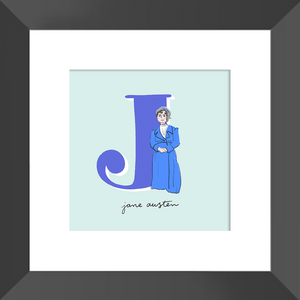 Jane Austen Framed Print