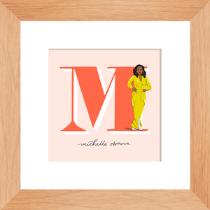 Michelle Obama Framed Print