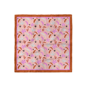 Pink Jungle Print Bandana