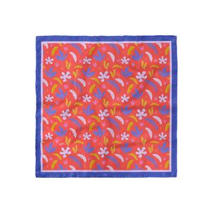 Red Jungle Print Bandana