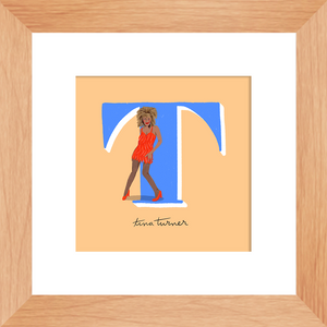 Tina Turner Framed Print