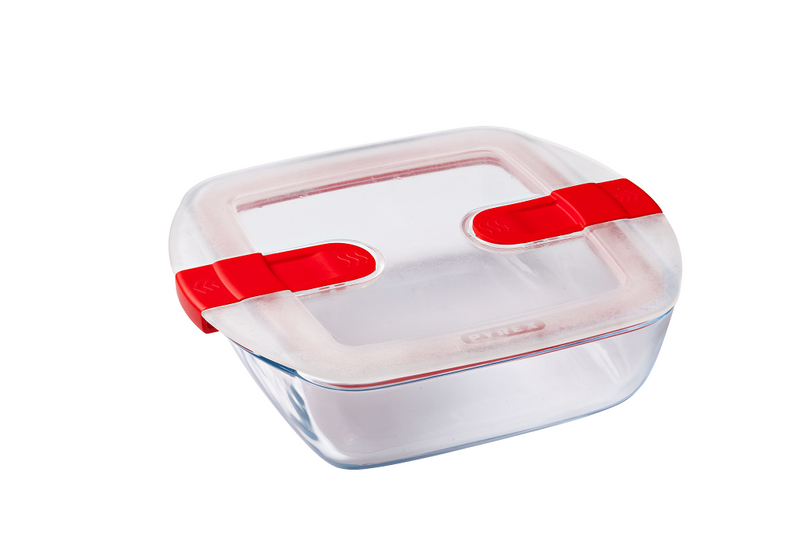 Lot de 3 plats carrés Pyrex® Cook & Heat 20 x 17cm