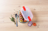 Lot de 3 plats rectangulaires Pyrex® Cook & Heat 23 x 15cm