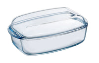 Cocotte four rectangulaire en verre - Essentials