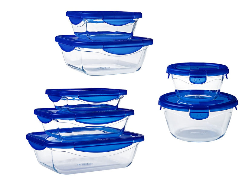 Lot de 7 couvercles Cook & Go