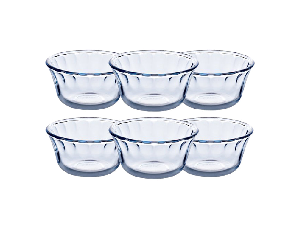 Lot de 6 coupes à dessert en verre 10cm - Classic Individuals