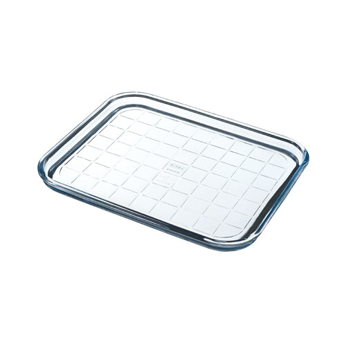 Plaque de cuisson multi-usages en verre 32x26 cm - Bake & Enjoy