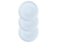 Lot de 3 couvercles ronds en plastique sans BPA - Cook & Freeze