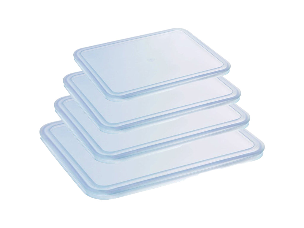 Lot de 4 couvercles rectangulaire Cook & Freeze