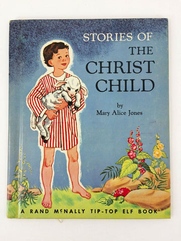 1953 Rand McNally Tip-Top Elf Book Stories of the Christ Child children's book