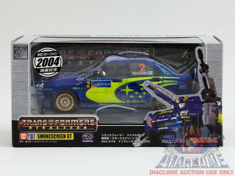 2004 Takara Transformers Binaltech BT-07 Smokescreen GT #2 MISB - C9+