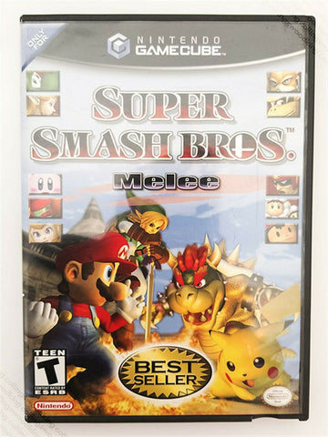 2001 Nintendo Gamecube Super Smash Bros. Melee game - Best Seller complete