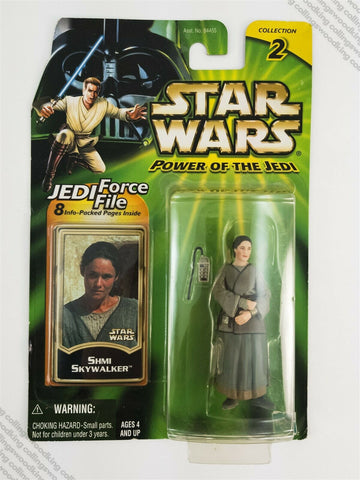 "2001 Hasbro Star Wars Power of the Jedi POTJ Shmi Skywalker 3 & ¾"" action figure"