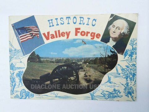 Vintage Historic Valley Forge tour book Washington Revolutionary War 1777 1778
