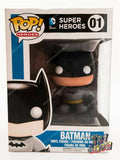 Funko POP! DC Super Heroes #01 Batman vinyl figure mint in box MIB