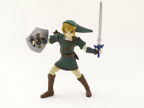 2006 Yujin The Legend of Zelda Twilight Princess Link capsule figure - Nintendo