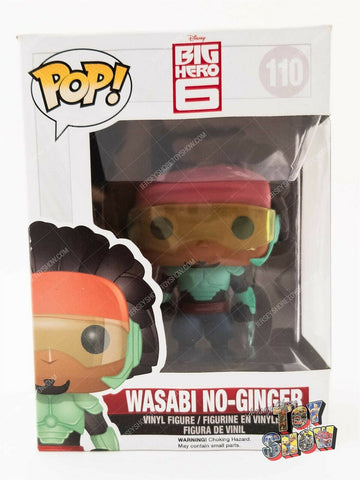 Funko POP! Disney Big Hero 6 #110 Wasabi No-Ginger vinyl figure MIB
