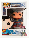 Funko POP! DC Super Heroes Universe 07 Superman vinyl figure MIB PX Previews Exc