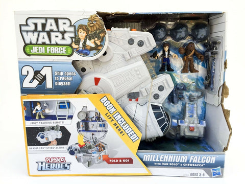 Hasbro Playskool Heroes Star Wars Jedi Force Millennium Falcon MISB NEW
