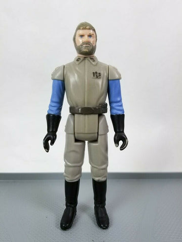 Vintage 1983 Kenner Star Wars General Madine action figure Molded Face Large Eye