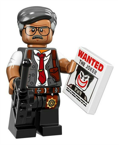 2017 LEGO #71017 The LEGO Batman Movie Minifigures #7 Commissioner Gordon minifi
