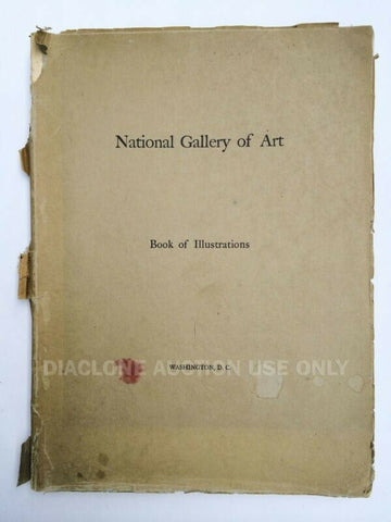 1941 Smithsonian National Gallery of Art Washington, DC Book of Illustrations