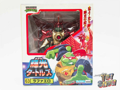 Japanese Takara Teenage Mutant Ninja Turtles Metal Mutants #63 Raphael MISB